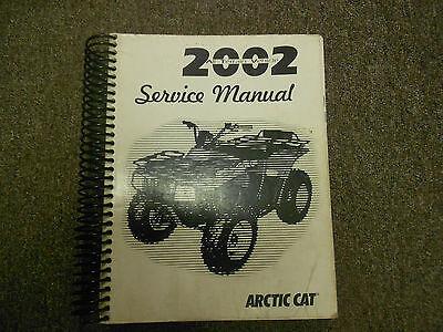 2002 Arctic Cat Atv Service Repair Shop Workshop Manual border=