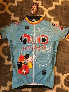 Vermarc Cycling Clothing - HUP United bleu club print - Jerseys, Bibs, Jackets