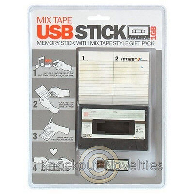 USB Mix Tape Mixtape Autio Cassette Music Download Share Gift Tapes Records