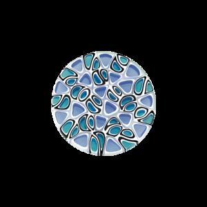 Coin-CS013-der-Firma-CEM-fuer-25-mm-Anhaenger-Muranoglas-blau