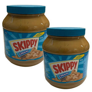 Skippy-Creamy-Peanut-Butter-1-8kg-x-2-Bulk-Value-Pack-Made-In-USA