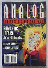 ANALOG, (SF Magazine, Febuary 1994). Jeffery D. Kooistra, G D Nordley, S T Burns