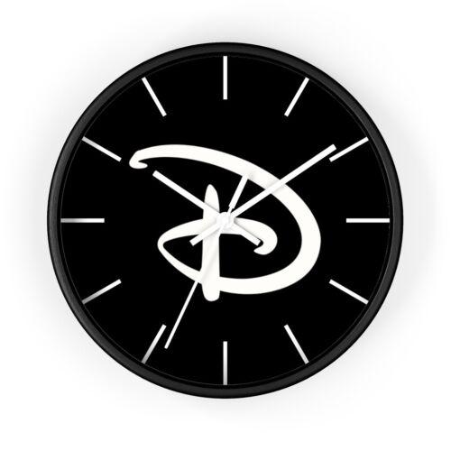"Disney Sign Print Wall Clock 10/"" Home Decor Kids Room Game Room Kitchen Bedroom"