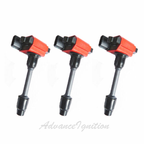 For Infiniti Nissan Maxima UF138 Heavy Duty Blaster Ignition Coil Red JNS302R*3