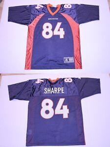 differently 548ac 234d9 Details about Youth Denver Broncos Shannon Sharpe L (14/16) Vintage Jersey  Starter Jersey