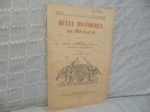Revue-historique-de-Toulouse-abbaye-de-Prouille-1929-n-2-Languedoc