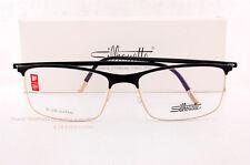 New Silhouette Eyeglass Frames URBAN FUSION FULLRIM 2904 6050 Black/Gold SZ  54
