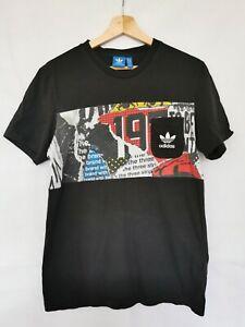 Adidas-Originals-T-SHIRT-noir-taille-M-tres-bon-etat