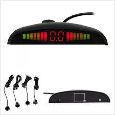 4 x Car LED Display Sensors Parking Radar System Auto Backup Reverse Alarm Kit