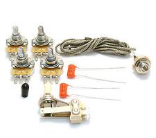 item 6 wksg-vnt vintage style guitar wiring kit for usa gibson cts pots es- 335/sg� -wksg-vnt vintage style guitar wiring kit for usa gibson cts pots