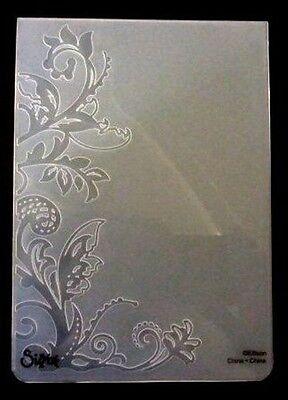 Sizzix Large Embossing Folder BOTANICAL VINE fits Cuttlebug & Wizard