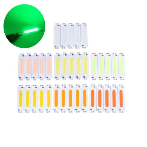 5pcs 60*15mm 2W COB LED Square Strip Light Lamp Bead Chip diy DC 12V Long BLTS