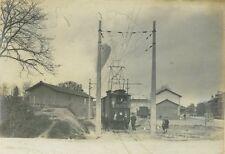 Lot de 20 photos anciennes LIBOURNE sa GARE tramways électriques vues diverses