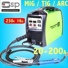 SIP 05773 HG2300MP tig mig arc 200 A Onduleur Soudeur Générateur de sécurité 230 V 16 A