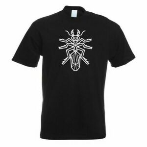 Ameisen-Poligono-T-Shirt-Motivo-Stampato-Maglietta-Divertente-Progettazione