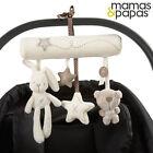 Mamas&Papas Cot Plush Hanging Toy Stuffed Doll Rabbit Baby Birthday Musical Gift