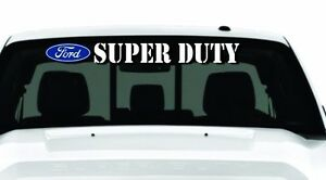Windshield-Decal-FORD-F-Series-Lariat-XL-XLT-SXT-King-Ranch-Super-Crew-and-more