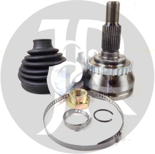 SAAB 9-5 3.0 V6 TURBO PETROL DRIVESHAFT CV JOINT ABS /& BOOT KIT 01/>05