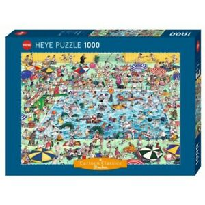 ROGER BLACHON - COOL DOWN! - Heye Puzzle 29904 - 1000 Teile Pcs.
