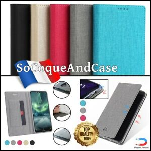 Etui-coque-housse-VILI-DMX-Cuir-PU-Leather-Wallet-Case-Cover-Nokia-6-2-7-2