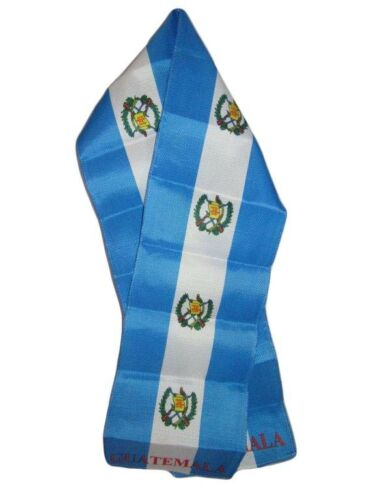 "Wholesale Combo Set Guatemala Country 3x5 3'x5' Flag and 8/""x60/"" Scarf"