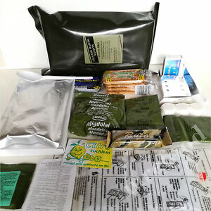 2PCS Lithuanian Army Food Mre Military Pack Meal Daily Survival Hiking Camping