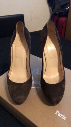 Bianca 7 Platform Shoes Louboutin Size Christian q8P7HwxYY