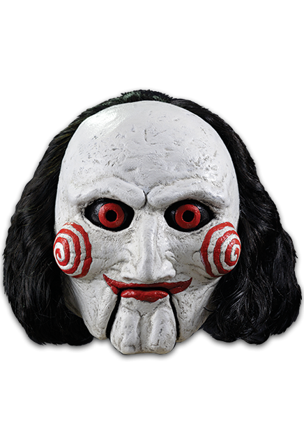 Jigsaw Billy Adult Mask Costume Accessory