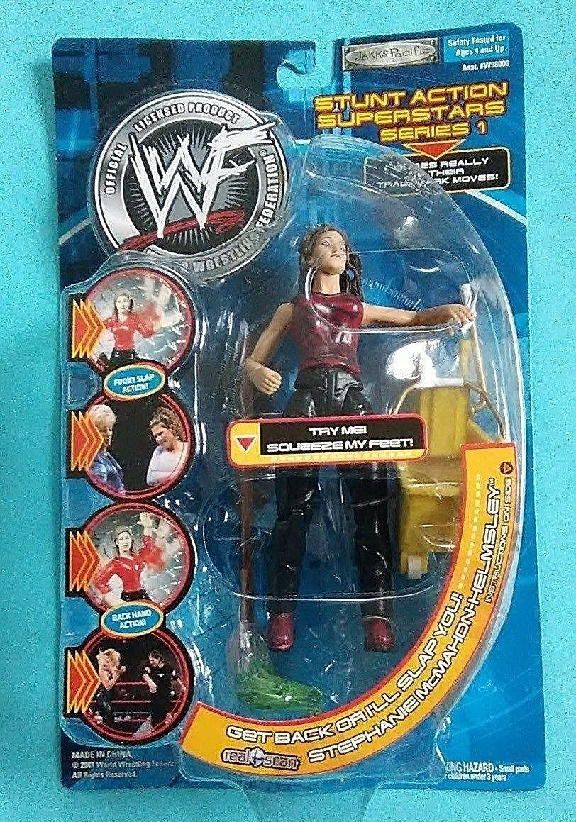 Stephanie mcmahon hensley wf world wrestling federation reihe 1   w98000.
