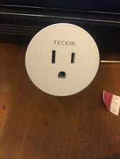 Teckin Sp10 WiFi Smart Plug 4pk Mini Outlet Alexa Google Assistant