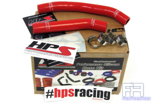 Red HPS Reinforced Silicone Radiator Coolant Hose Kit For 06-10 Suzuki LTR450