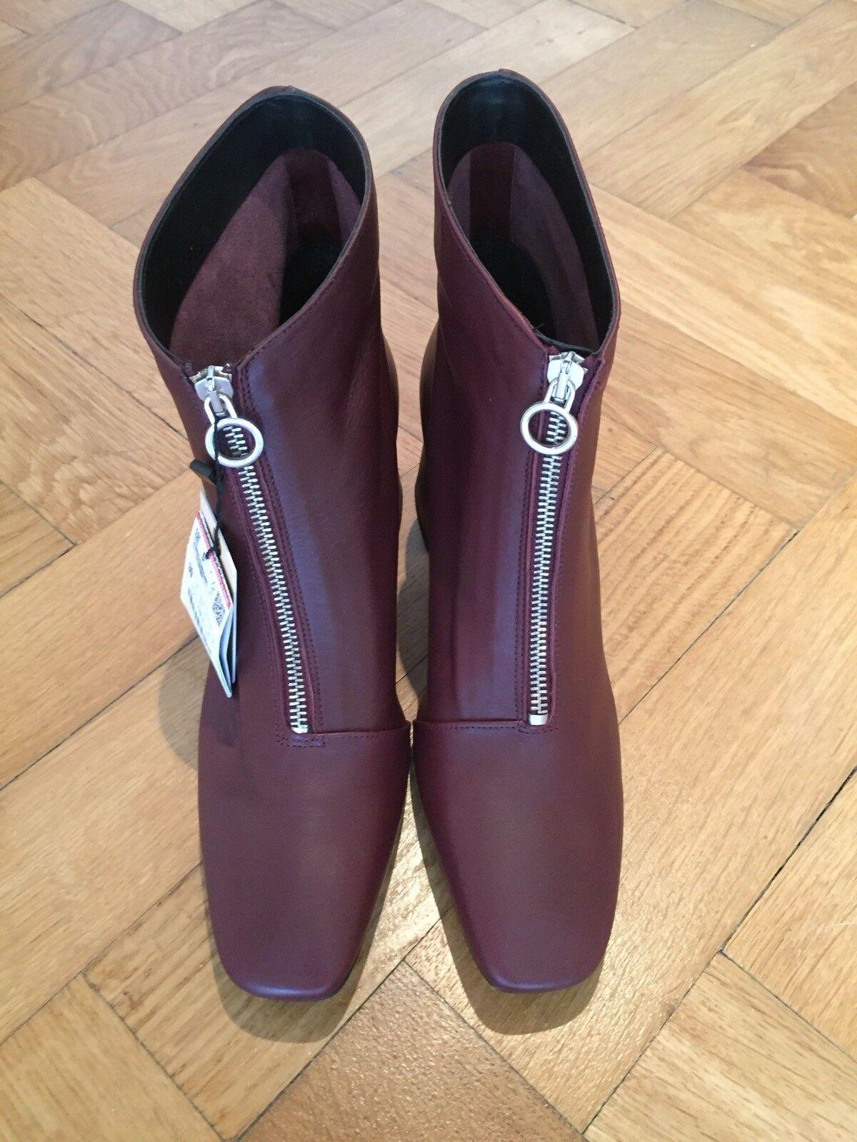 Zara Stiefel Stiefel Zara bordeaux NEU Größe 39 41bf47