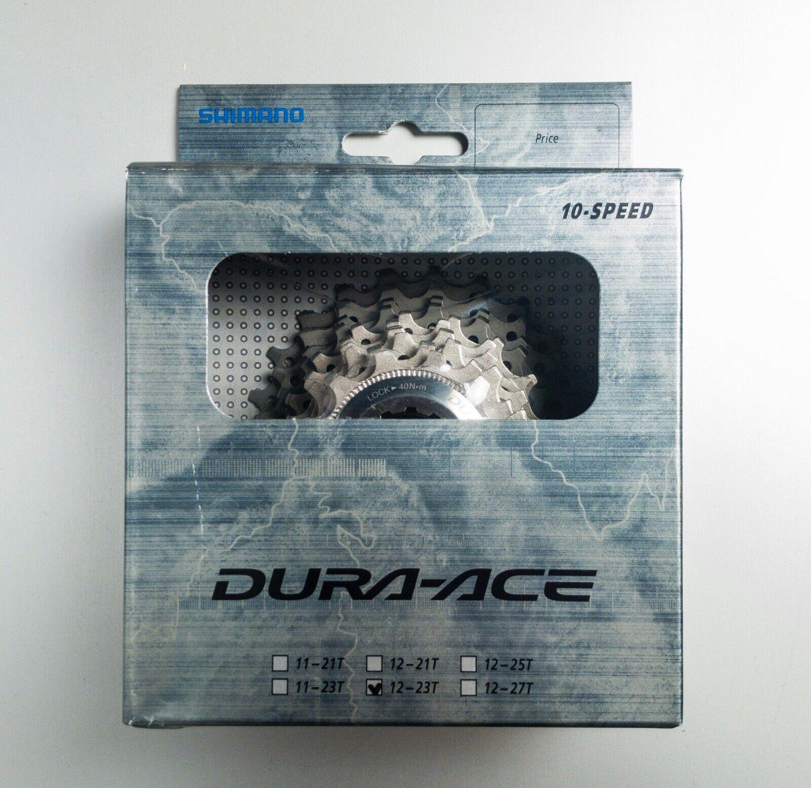 Shimano dura ace CS-7800 12-23T 10 speed cassetta cassette  cogs NOS NEW pignoni