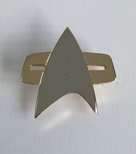 Metal Enamel Pin Badge Brooch Star Trek Trekkie Trekk Com Comm DS9 ...