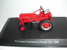 UNIVERSAL HOBBIES 6077  McCORMICK FARMALL CUB 1956 TRACTOR 1:43 NEW EX-DISPLAY