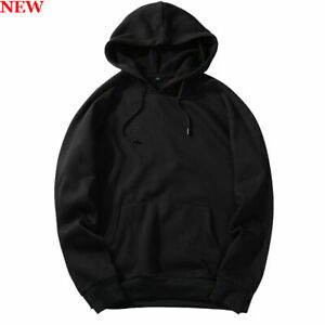 Long-Sleeve-Sweatshirt-Mens-Tops-Coat-Pullover-Workout-Hooded-Sports-Casual