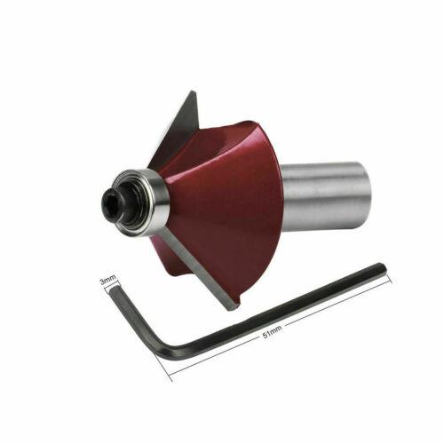 "15PCS Tungsten Carbide Tipped TCT 1//2/"" Router Bits Shank Wood Sealed Bearing Set"