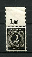 All. Bes. Nr. 912b Podzg postfrisch ** minimal bügig am Rand  (D606)