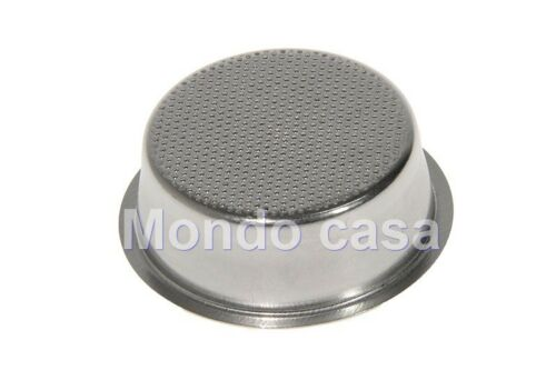 Delonghi Filter Cup 2 Cups For Machine Coffee BAR14 BAR12F Veneto CP50