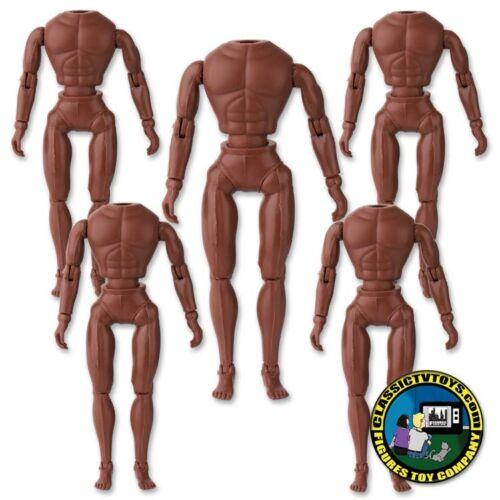 retro taille regular homme corps environ 20.32 cm Lot de 5 Marron 8 in