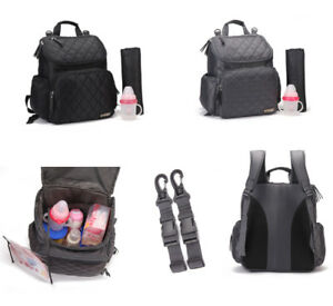 New-Quality-Multi-functional-Smart-Unisex-Backpack-Baby-Nappy-Changing-Bag-Set