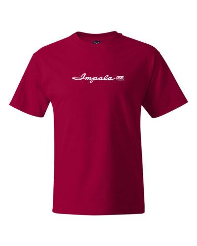 Impala SS Retro Classi Car Logo T-shirts S-5Xl