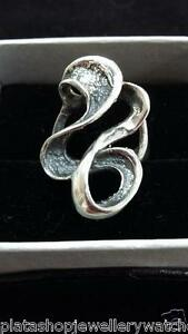 Solid-Silver-Ring-925-Unique-Swirl-Design-Size-Q-Ladies-Gift-Ring
