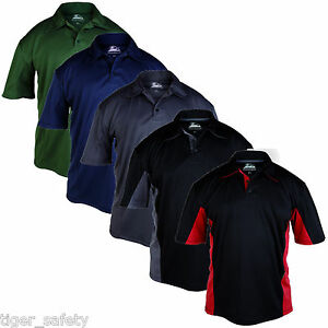 Himalayan-Zephyr-Mens-Breathable-Polyester-Dri-Fit-Work-T-Shirt-Sport-Polo-Shirt