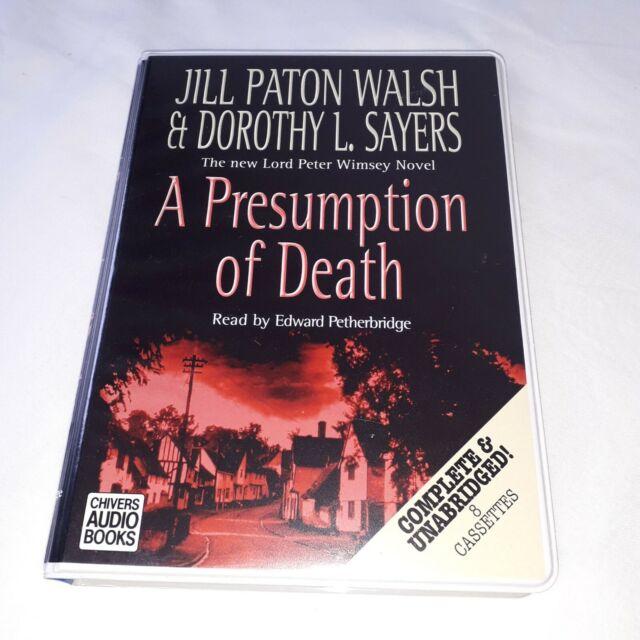 Dorothy L Sayers A presumption of death 8 audio cassettes audio book