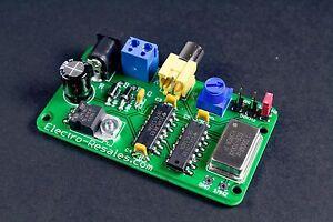 MG-4 Marker Generator crystal calibrator 100 kHz   50 kHz and    25 kHz  output