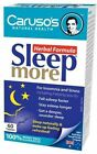 Carusos Health Sleep More 60 Tablets - Totally Natural Products Vitamins
