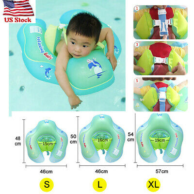 Baby Kid Swim Ring Inflatable Toddler Float Swimming Pool Water Seat Wat RRB