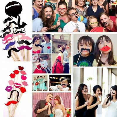 58 Vintage Fun Selfie Photo Booth Props Birthday 40th 50th Wedding Party P1