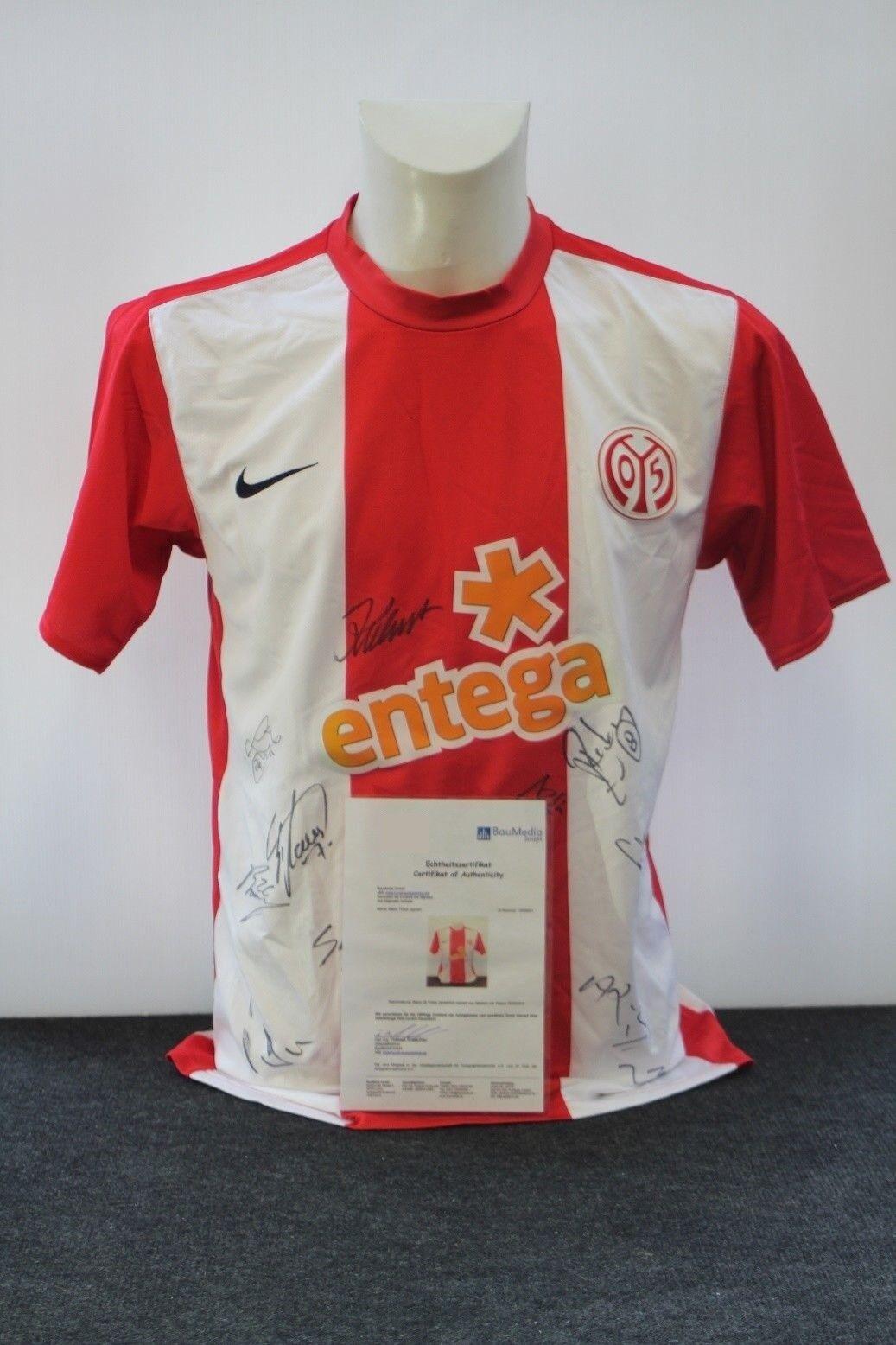 Mainz 05 Trikot 2009/2010, 2009/2010, Trikot Teamsigniert, FSV, S 575306